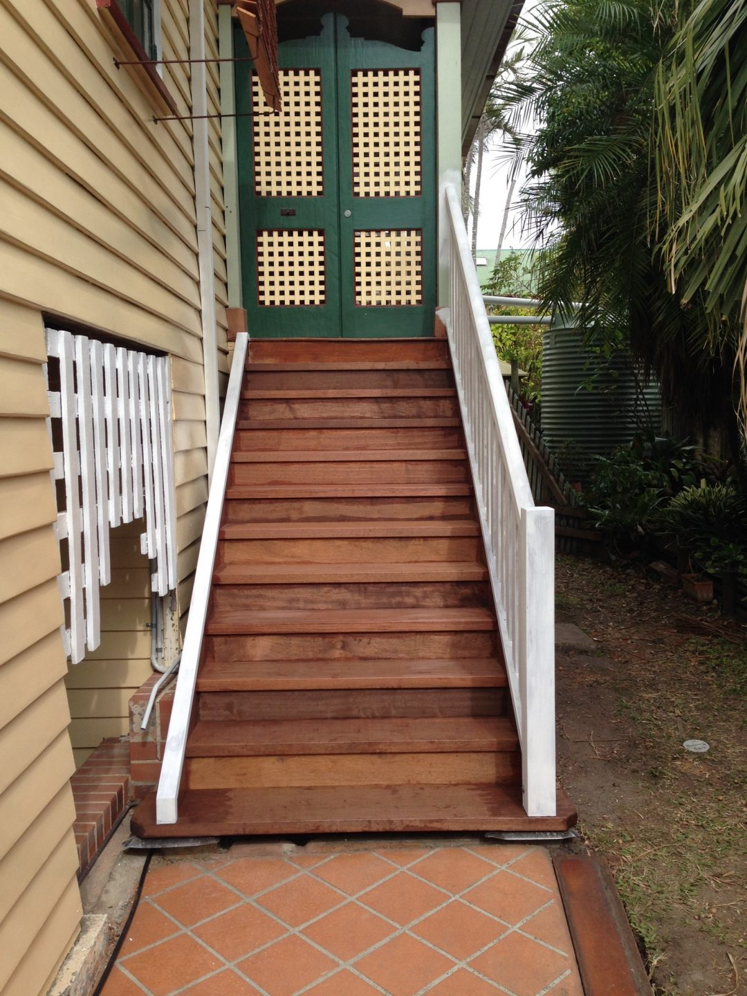 Stair replacement at Greenslopes