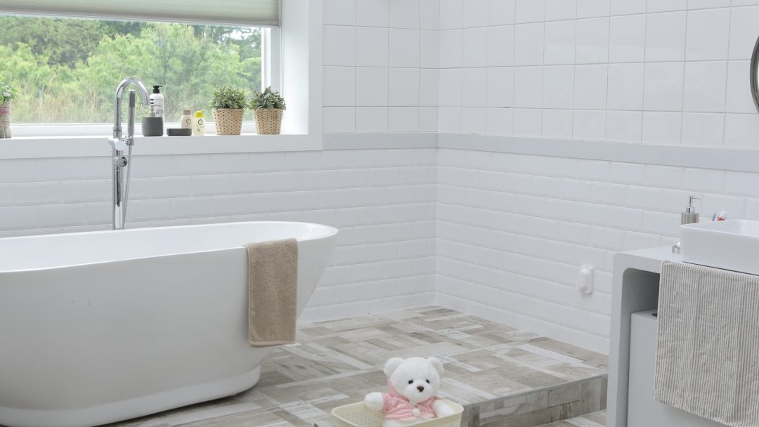 Bathroom renovation at Hamilton