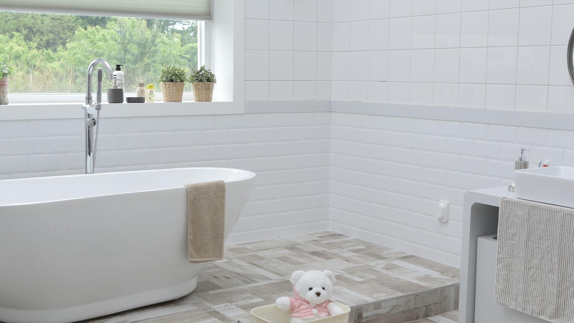 Kitchens and Bathrooms - Bathroom renovation at Hamilton