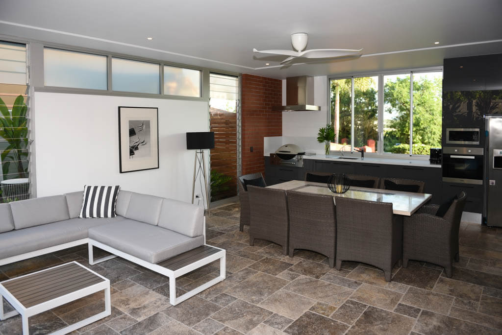 Entertaining Area With Dining And Lounge Areas