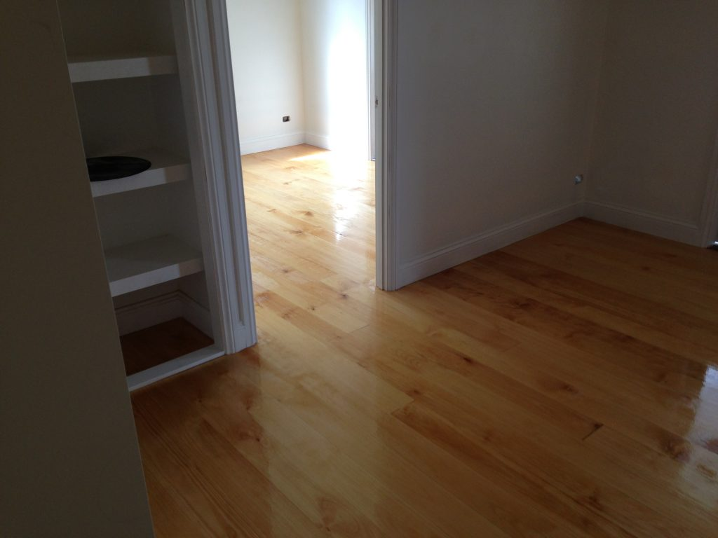 Natural Finish Floors In Newly Created Ground Floor Level