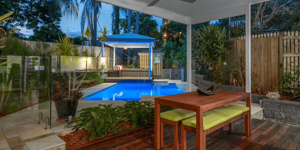 Recently Completed Outdoor Entertaining Area In Greenslopes